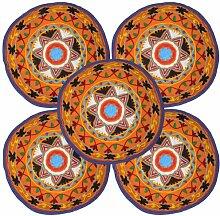 Ethnic Designer traditionellen bestickt Arbeit Bett Kissen Bezug Suzani Kisse