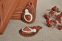 Ethno Ohrringe Handmade Ohrringe Geschenk fur