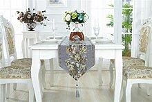 Ethomes European Luxury Moderne Blumen Stickerei