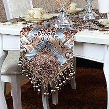 Ethomes Modern Samt Stapel Tischläufer für