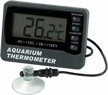 ETI Thermometer für Aquarium, misst Innen- und