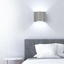 ETiME 12W LED Wandleuchte außen Wandlampe