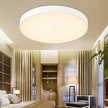 ETiME 18W Ultraslim LED Deckenlampe Warmweiß