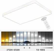 ETiME 36W Ultraslim LED Deckenleuchte dimmbar