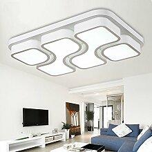 ETiME 45W Design LED Deckenlampe Kaltweiss