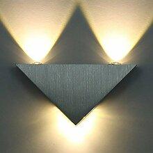 ETiME 9W LED Wandleuchte Dreieckige Wandlampe