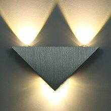 ETiME 9W LED Wandleuchte Innen Modern Up Down