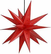 ETiME Adventsstern Weihnachtsstern Stern 3D