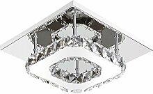 ETiME Kristall Deckenleuchte Modern Deckenlampe