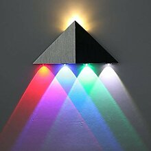 ETiME LED 5W Wandleuchte Bunt Wandlampe