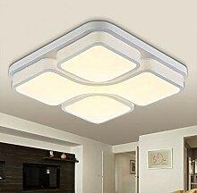 ETiME LED Deckenlampe Led Deckenleuchte Design 24W