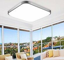 ETiME® LED Deckenleuchte 65x65cm Deckenlampe