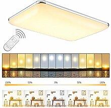 ETiME® LED Deckenleuchte Dimmbar Deckenlampe