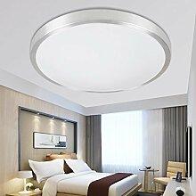 ETiME® LED Deckenleuchte Rund Deckenlampe Modern