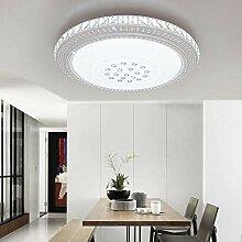 ETiME LED Kristall Deckenleuchte 42cm Kaltweiss