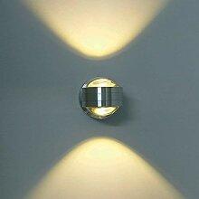 ETiME LED Wandleuchte innen Wandlampe Flurlampe