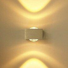 ETiME LED Wandleuchte innen Wandlampe Mini