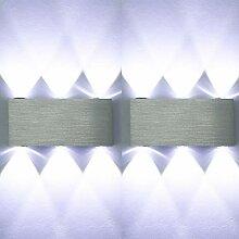 ETiME LED Wandleuchte Wandlampe Flurlampe