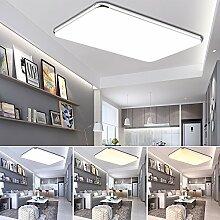 ETiME® Ultraslim LED Deckenleuchte 96W Dimmbar