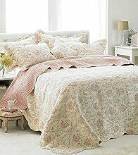 Etoille Doppelbett Tagesdecke leicht Bestickt mit