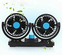 etshws doppel - kopf 12v24v van van fan wagen starken lkw - ventilator in windigen klein - van,24V