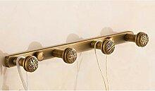 EU13 Garderobenhaken Kleiderbügel Antikes Kupfer