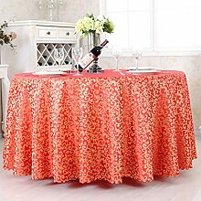 EU13 Tischdecke, Polyester, rote