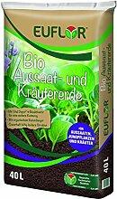 Euflor 40 L Bio Aussaat- und Kräutererde, feine