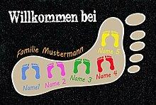 Eule-Design.de Fußmatte Motiv Vintage Lustig