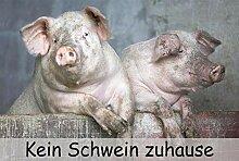 Eule-Design.de persönliche Fußmatte Schwein