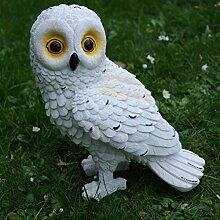 Eule Schnee-Eule Uhu Kauz Vogel Tierfigur