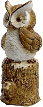 Eule Uhu Kauz Tierfigur Skulptur Deko Artikel