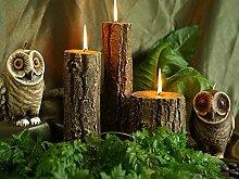 EULEN Dekokerzen, Kerzen Figur, handgemachte Kerzen, Geschenkidee