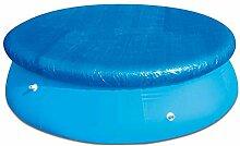 Euopat Frame Pool Cover , 396CM Aufblasbare