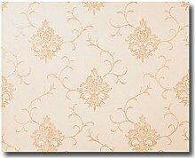 Euphoria Satin Tapeten barock Design