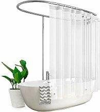 Eurcross-Duschvorhang aus PEVA-Kunststoff,