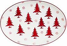 Euro Ceramica Inc. Winterfest-Kollektion 14-Inch