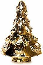 EUROCINSA Glasbaum antik Gold 18 Øx27 cm 1
