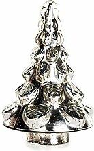 EUROCINSA Glasbaum antik Silber 18 Øx27 cm 1
