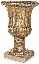 EUROCINSA Ref. Vase Florencia 48Øx71 cm Gold Antik