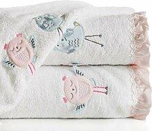 Eurofirany Baby Handtuch Baumwolle Kinderhandtuch