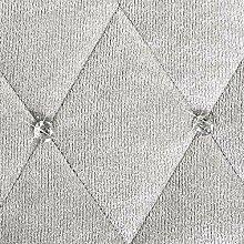 Eurofirany Tagesdecke, Polyester, Silber, 200 x