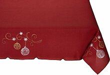 Eurofirany Tischdecke Weihnachten 110x160 Ro