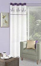 Eurofirany Vorhang, 140x250 cm, Leinenqualität