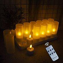 EuroFone Flameless LED Teelicht Kerze