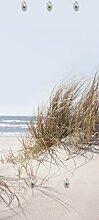 Eurographics G-DT4087 Sea of Dunes Garderobe, Glas, beige, 125 x 50 x 3,5 cm