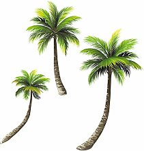 Eurographics Green Palm Trees 50x70, Papier,