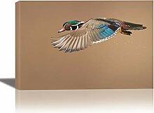 Eurographics Holz-Enten-Gemälde für