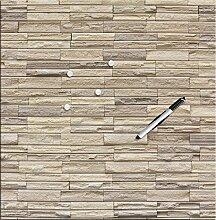 Eurographics MB-DT30056 Brick Wall Memoboard Glas