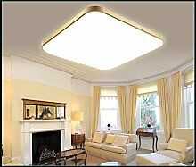 Eurohandisplay LED Deckenleuchte 6088-53x53cm Rahmen gold mit Fernbedienung Lichtfarbe/Helligkeit einstellbar (6088-53x53cm gold Rahmen)